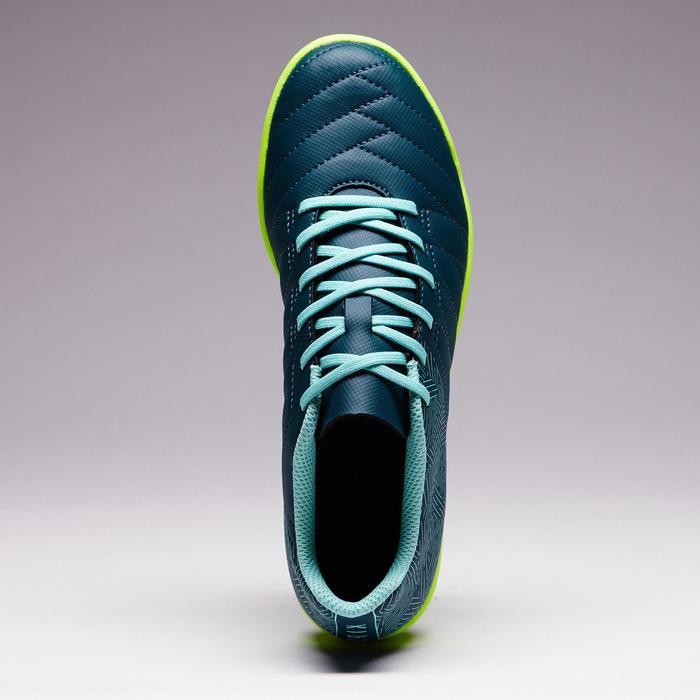 Chaussure de futsal enfant CLR 500 bleue jaune - 1351705
