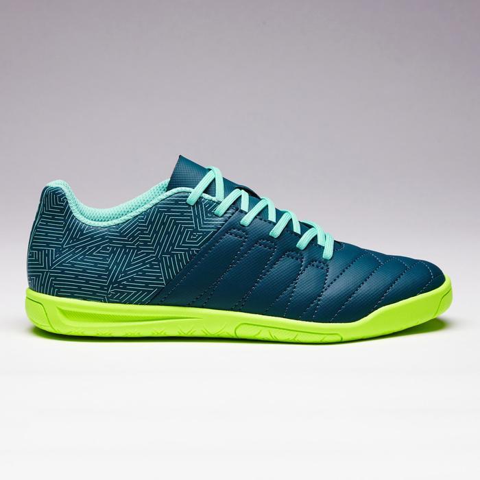 Chaussure de futsal enfant CLR 500 bleue jaune - 1351706