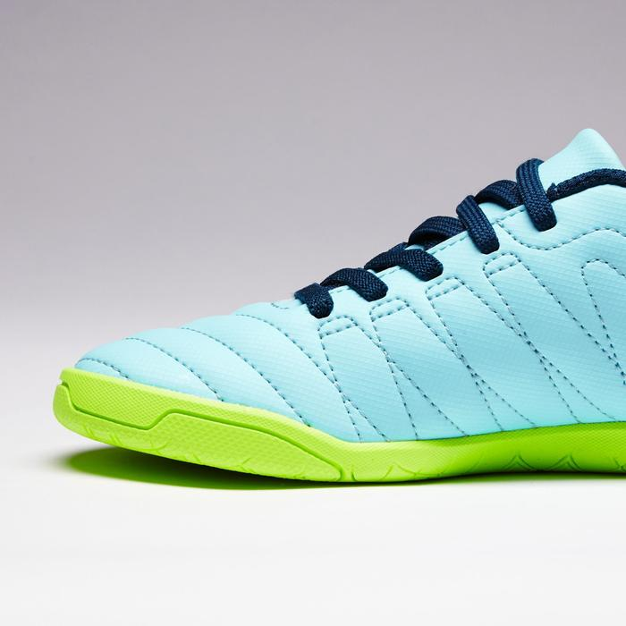 Chaussure de futsal enfant CLR 500 à scratch verte