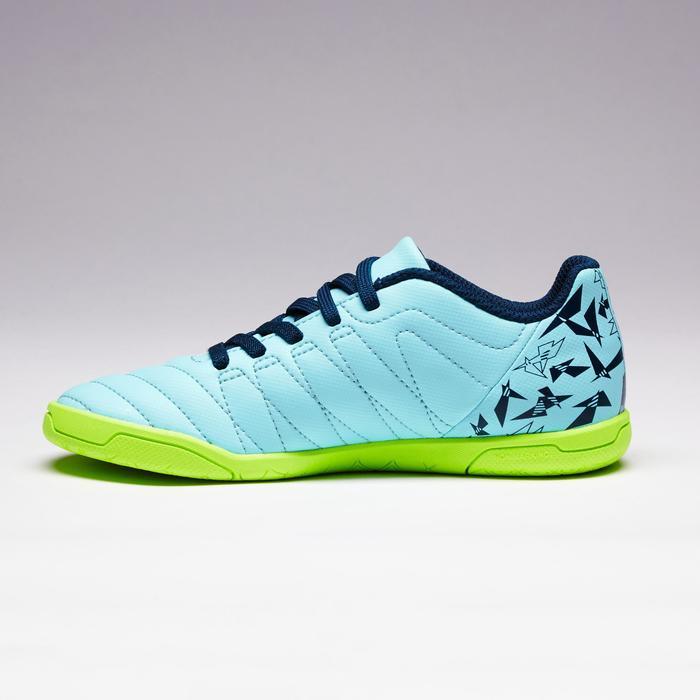 Chaussure de futsal enfant CLR 500 à scratch bleue - 1351713