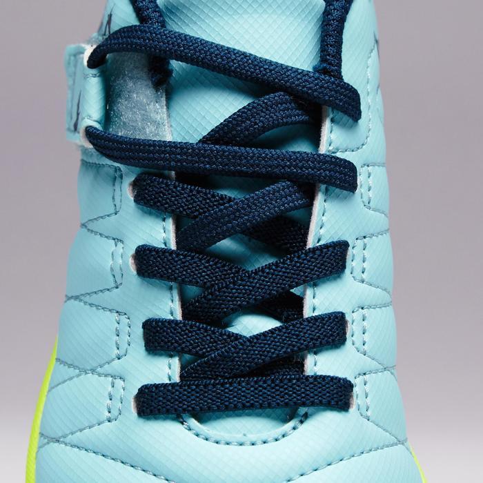 Chaussure de futsal enfant CLR 500 à scratch bleue - 1351716