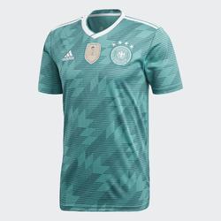 Voetbalshirt voor volwassenen, replica uitshirt Duitsland 2018 wit