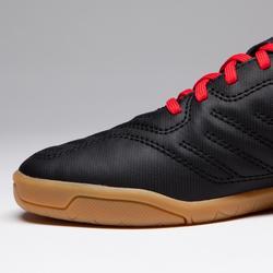 Chaussures de Futsal baby Agility 100 noire rouge