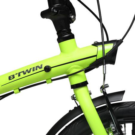 "Tilt 500 20"" Sepeda Lipat Perkotaan - Kuning"