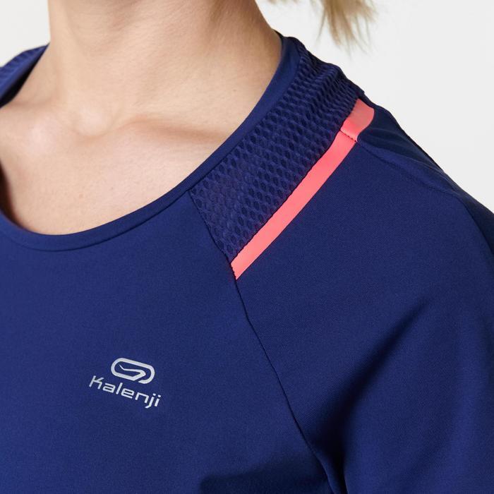 Laufshirt kurzarm Run Dry+ Run Dry+ Damen marineblau