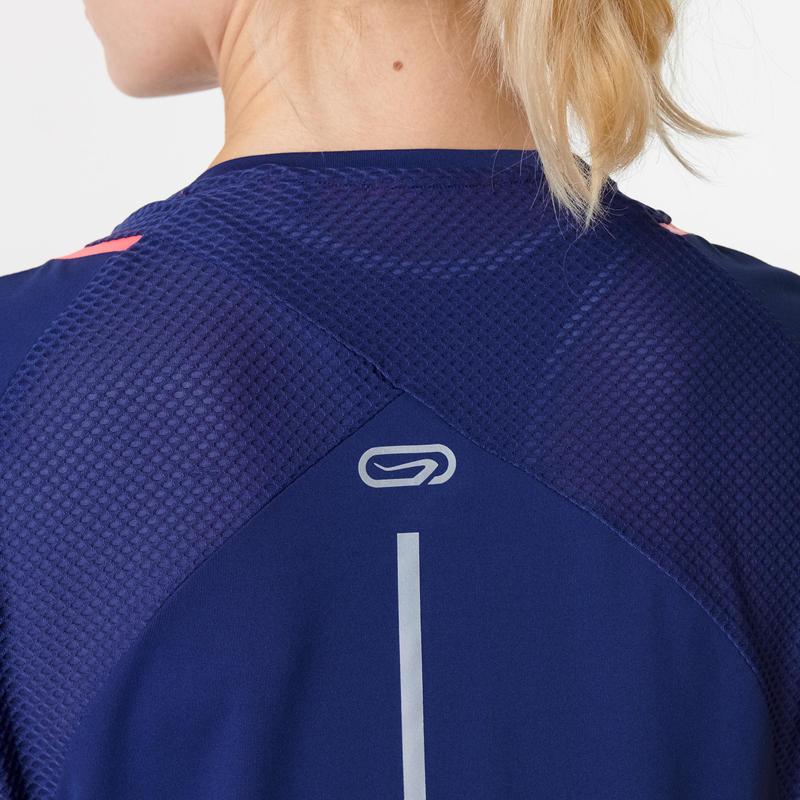 Run Dry+ Women's Running T-shirt - Navy