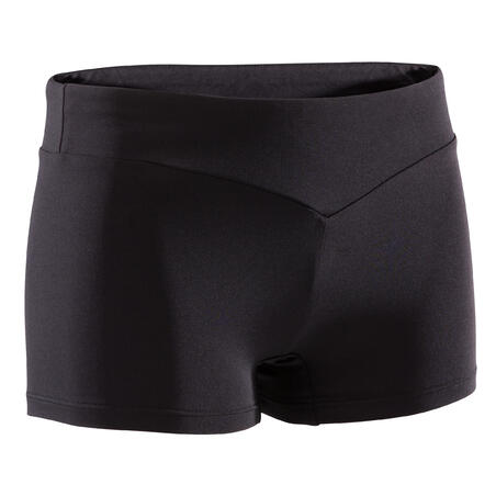 Artistic Gymnastics Shorts 100 - Black