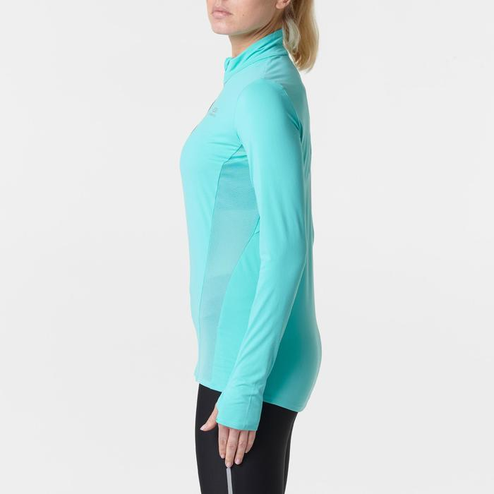 MAILLOT MANCHES LONGUES JOGGING FEMME RUN DRY+ ZIP - 1351943