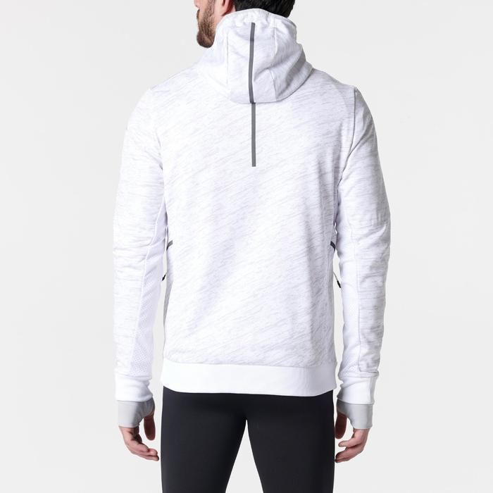 Laufjacke Run Warm+ Pocket Herren weiß