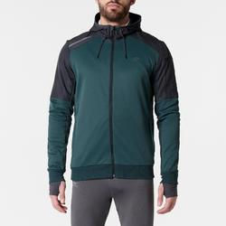 Laufjacke Run Warm+ Pocket Herren grün