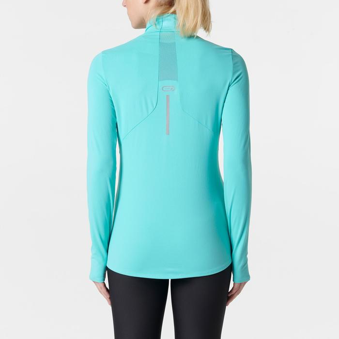 MAILLOT MANCHES LONGUES JOGGING FEMME RUN DRY+ ZIP - 1352080