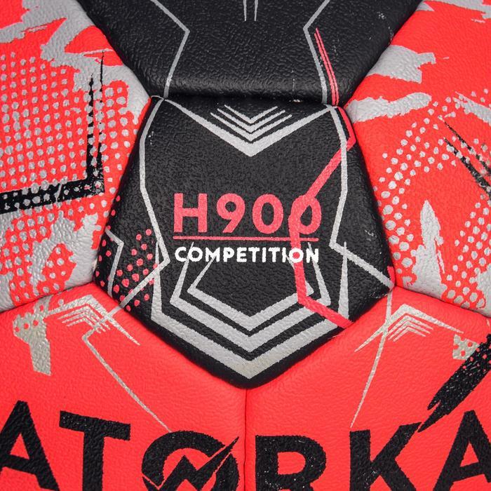 Handball H900 IHF Größe 3 rot/schwarz