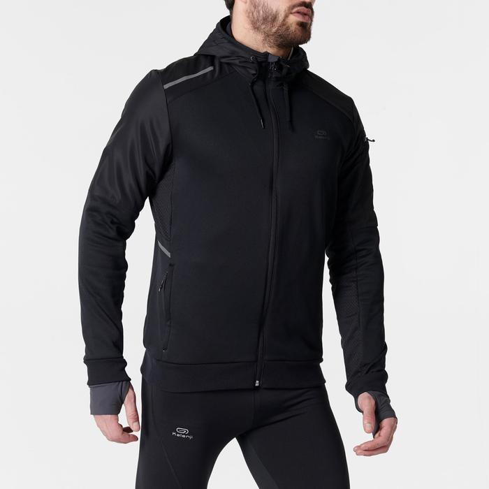 amazing selection new collection low price VESTE RUNNING HOMME RUN WARM+ NOIR