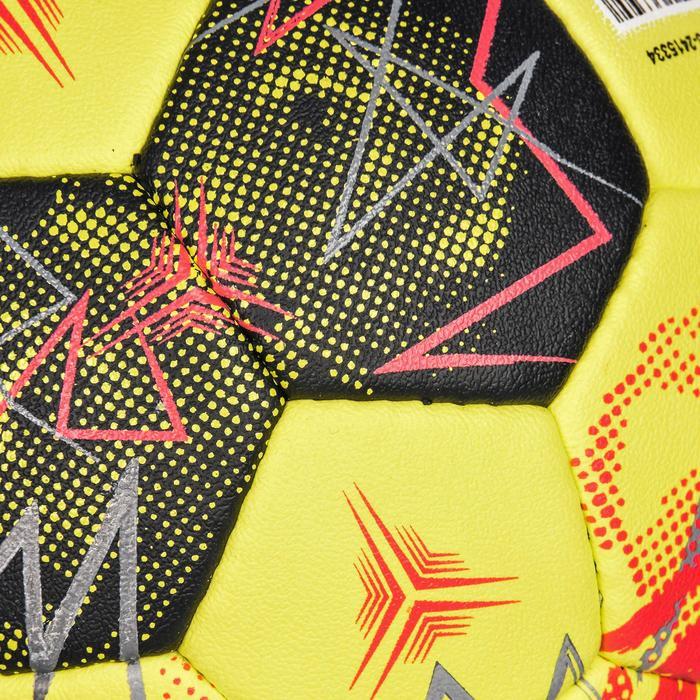 Handball H900 IHF Größe 3 gelb/schwarz