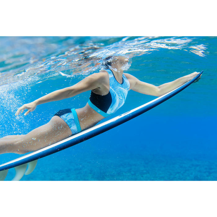 Bikini-Hose Vali Bondi mit Kordelzug Surfen Damen