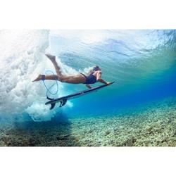 Leash surf 6' (183 cm ) diamètre 7mm bleu