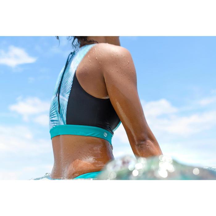 Bikini-Oberteil Bustier Carla Bondi mit Back Zip Surfen Damen