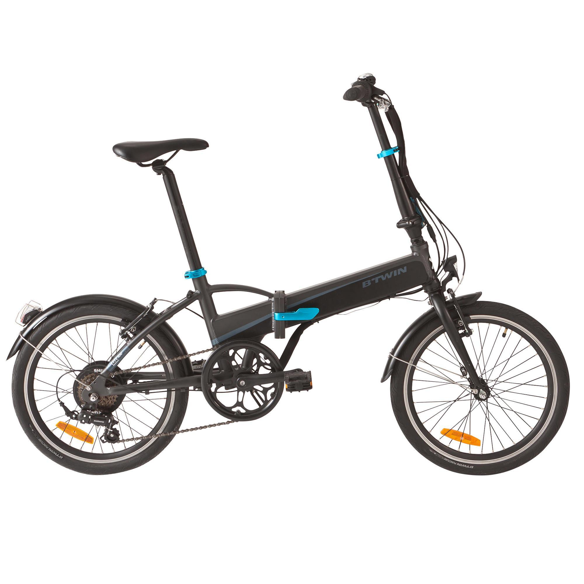 e bike 20 faltrad tilt 500 e b 39 twin decathlon. Black Bedroom Furniture Sets. Home Design Ideas