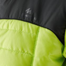 Wattierte Jacke MH500 Kinder schwarz/grün