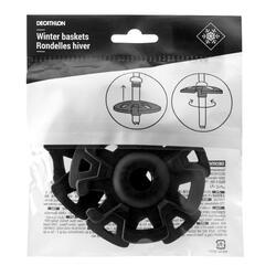Set of 2 winter baskets for hiking poles