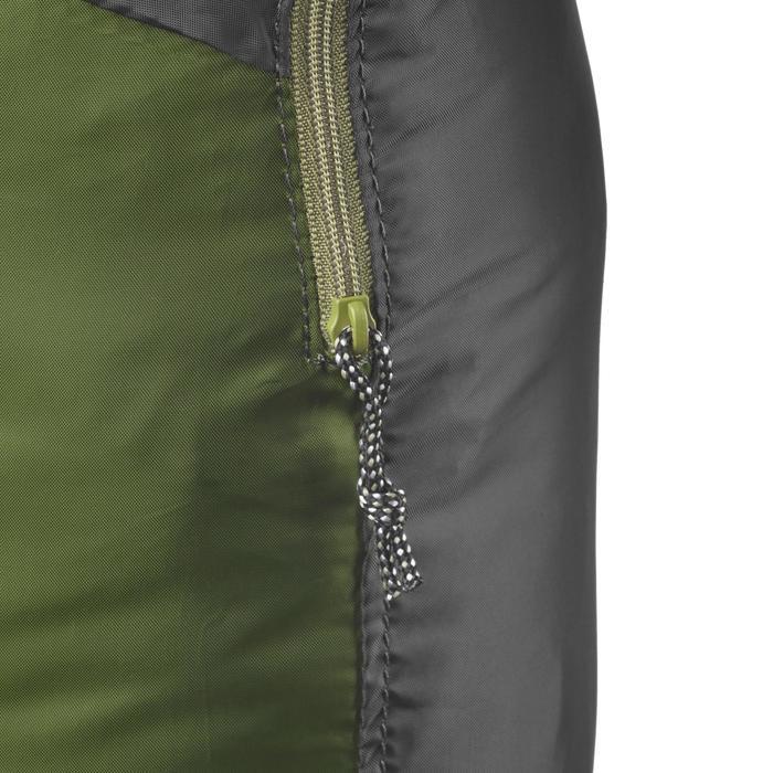 Rucksack Travel ultrakompakt 10 Liter dunkelgrün