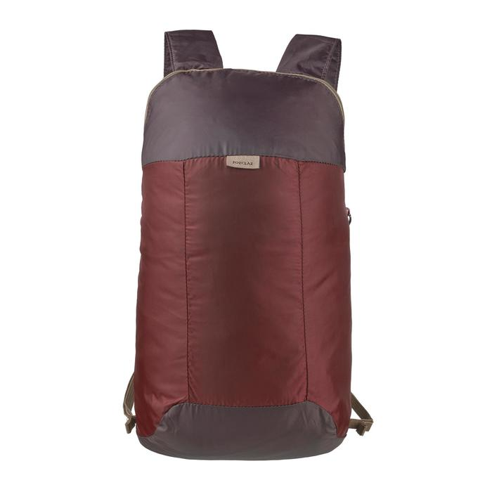 Rucksack Zusatzrucksack ultrakompakt 10 Liter braun