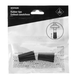 2 Quechua and Forclaz Endpiece Kit to Protect your Hiking Pole Tips