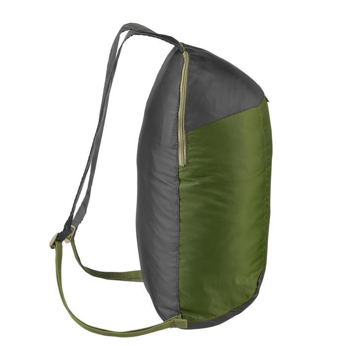 Mochila TRAVEL ultra compact 10 litros verde oscuro