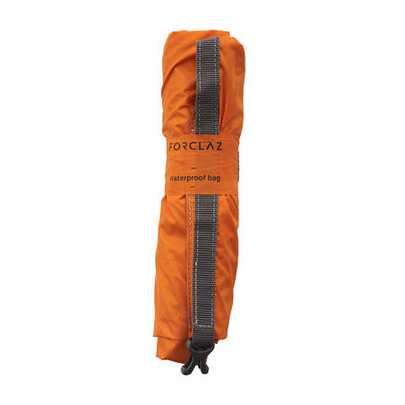 Waterproof hiking bag protecting from water and dampness