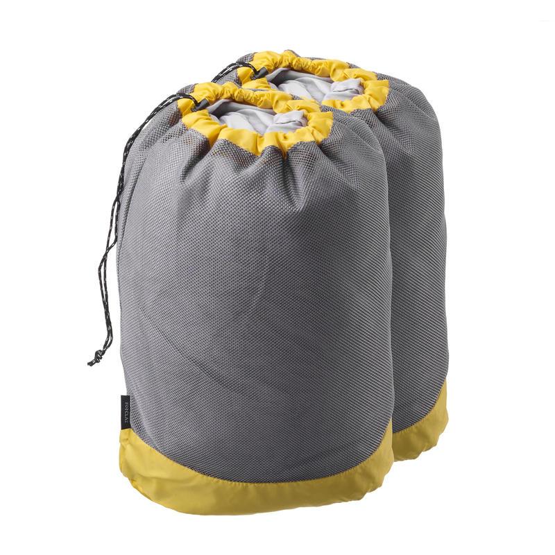Lot de 2 housses de rangement ventilées pour la randonnée