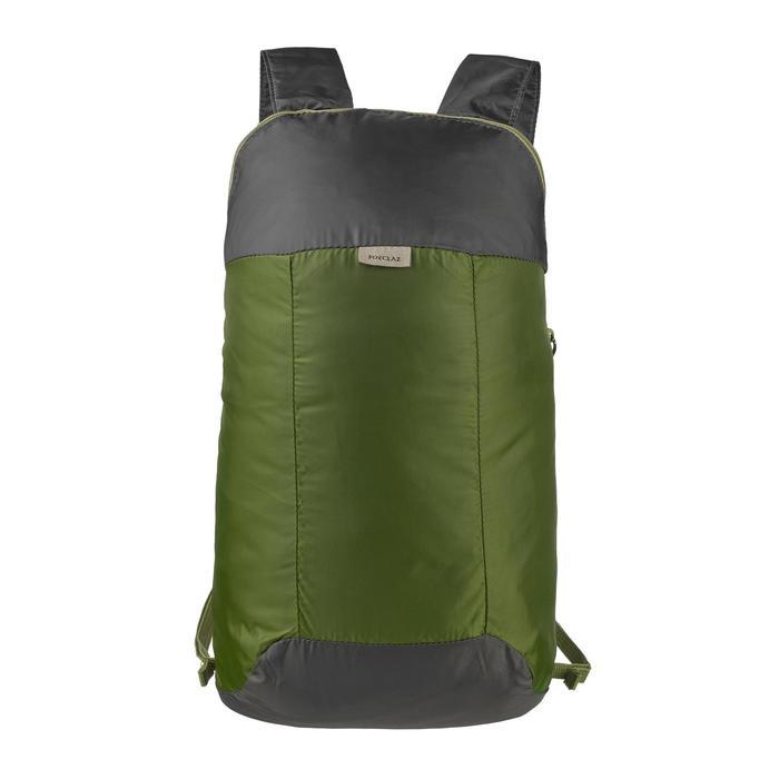 Rucksack ultrakompakt 10 L grün