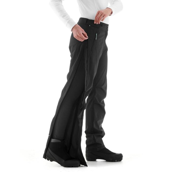 Langlaufbroek voor dames 150 zwart