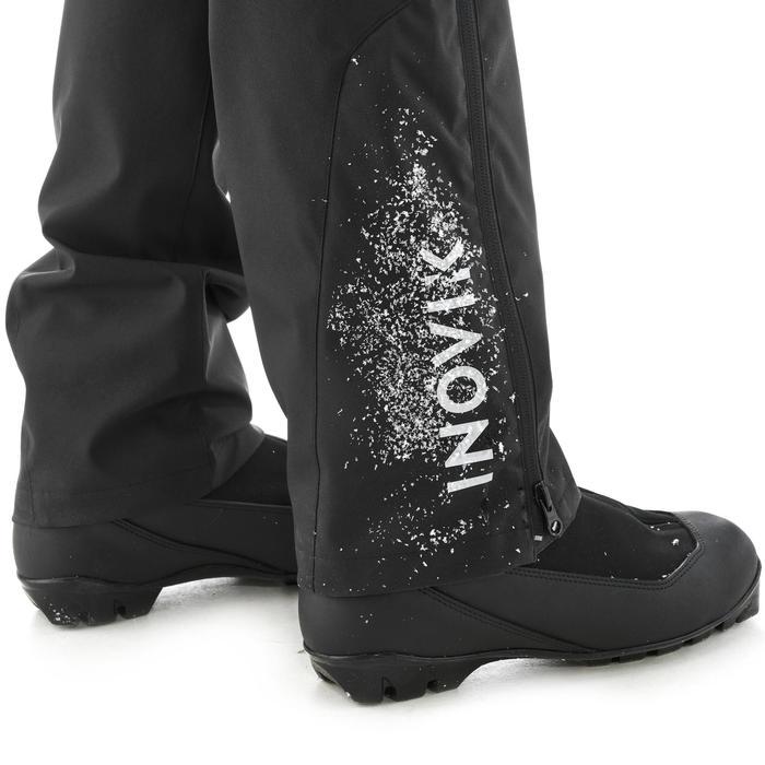 Surpantalon de ski de fond femme XC S OVERP 150 noir