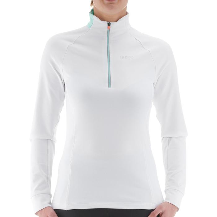 Tee-shirt manches longues chaud XC S TS 100 femme