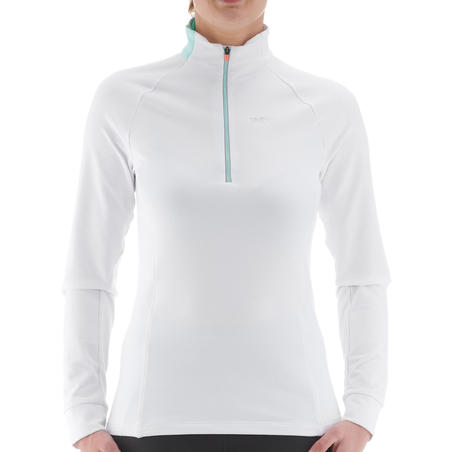 T-shirt manches longues chaud XC S TS 100 femme
