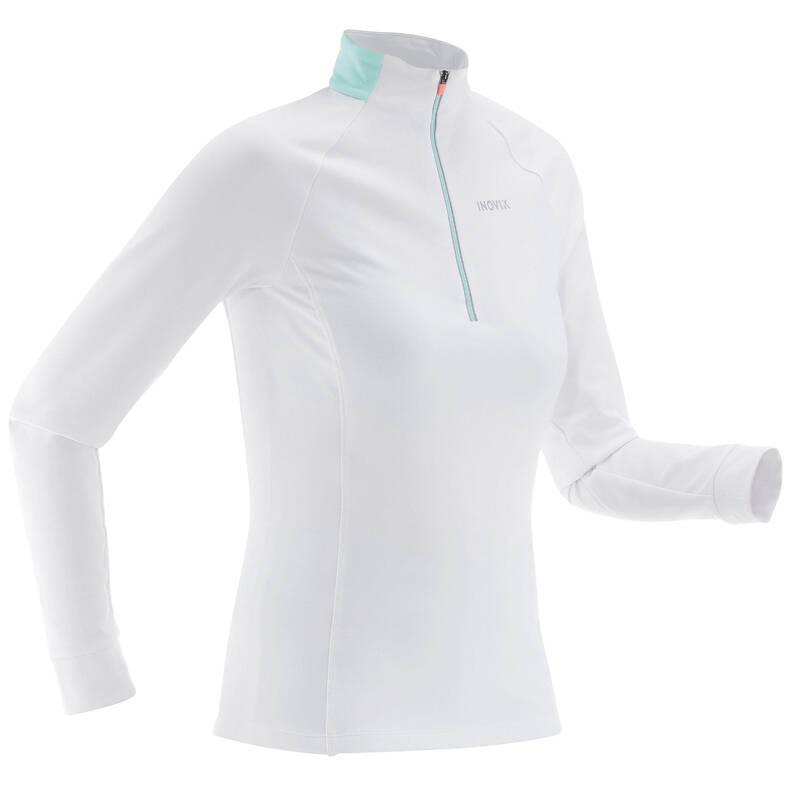 PRÁZDNÉ Běžecké lyžování - HŘEJIVÉ TRIČKO NA BĚŽKY 100 INOVIK - Oblečení na běžky