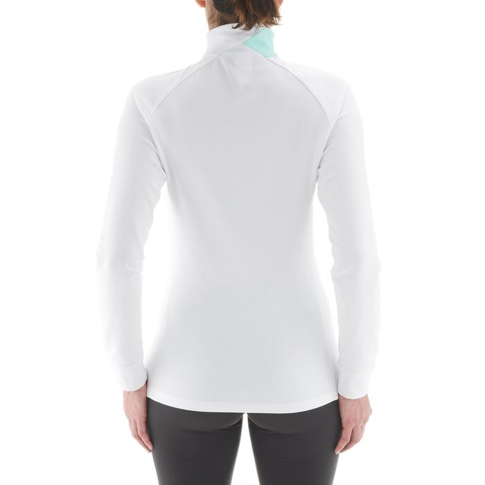 Tee-shirt chaud de ski de fond femme XC S T-S 100 blanc