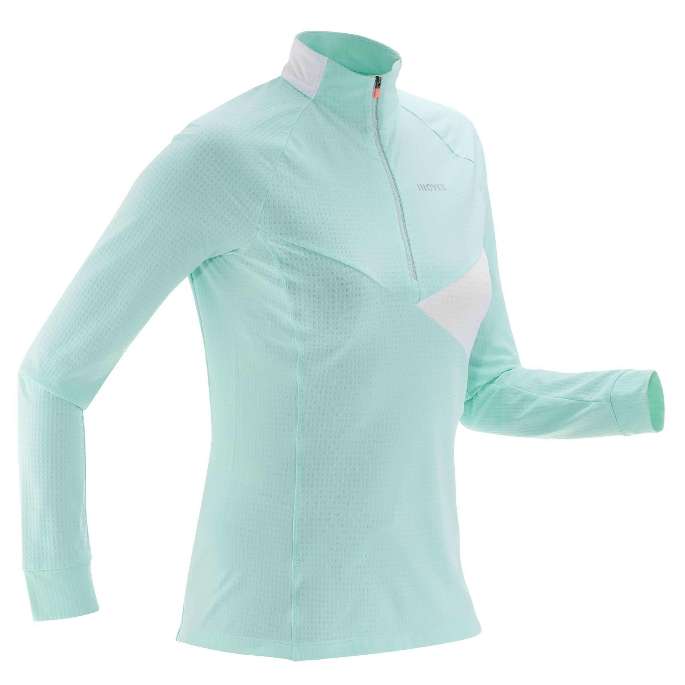 Inovik Licht dames T-shirt voor langlaufen XS S T-S 500