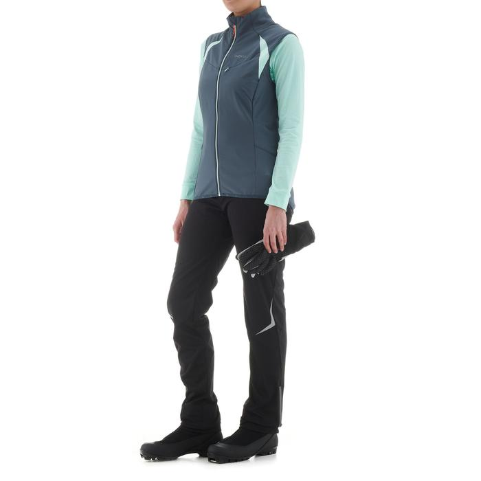 Tee-shirt léger de ski de fond femme XC S T-S 500