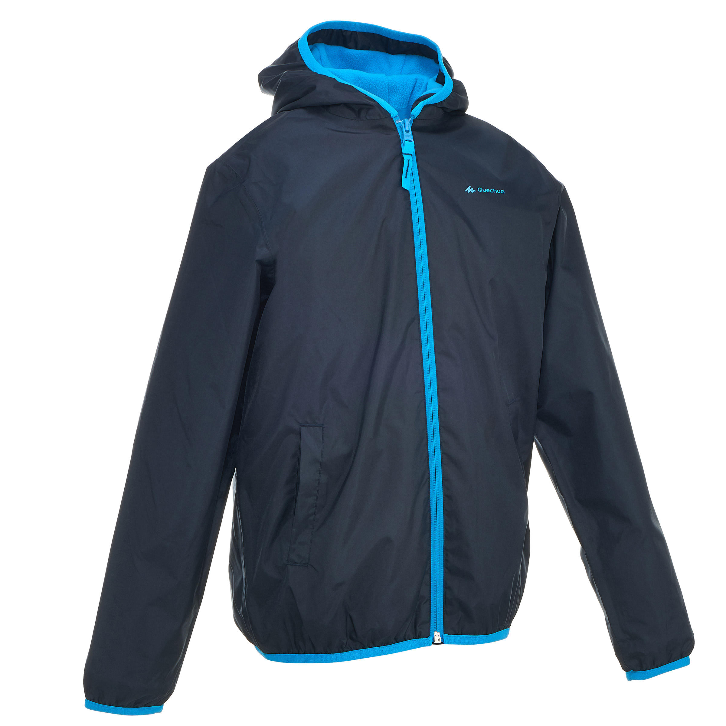 Kids Snow Hiking Jacket SH50 Warm - Blue