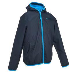 Kinderjas voor sneeuwwandelen SH50 warm blauw