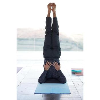 Couverture de Yoga biface grise - 1352379