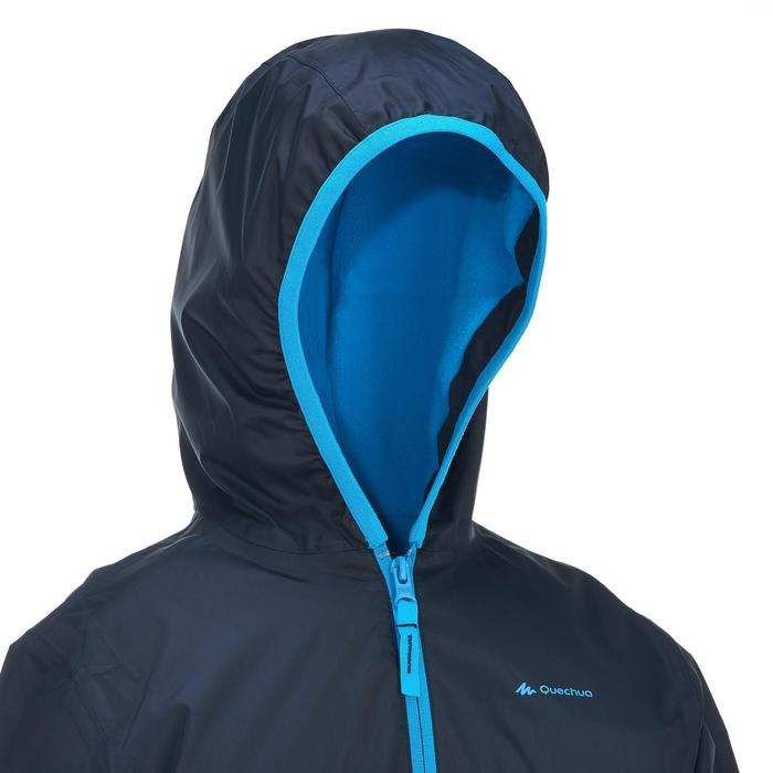 Veste chaude de randonnée neige SH50 WARM garçon 8-14 ans bleue