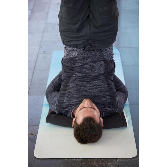 Couverture de Yoga biface grise - 1352380