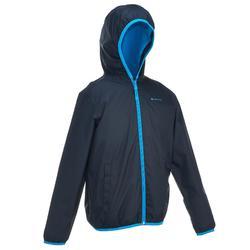 Wanderjacke Winterwandern SH50 Warm Kinder blau