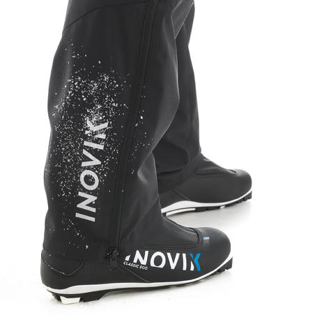 Surpantalon de ski de fond homme XC S SURPANTALON 150 noir