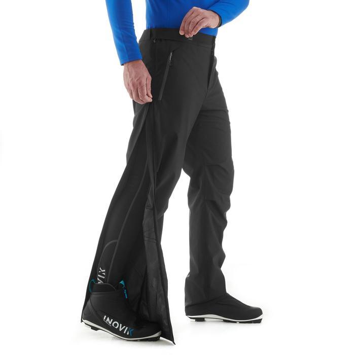 Surpantalon de ski de fond homme XC S OVERP 150 noir