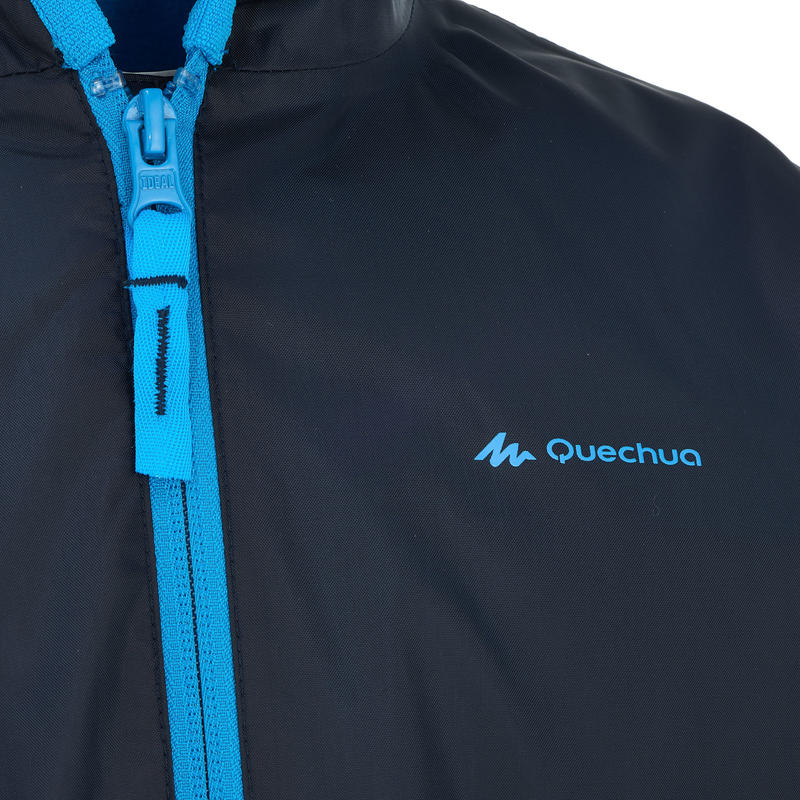 Veste chaude imperméable de randonnée neige SH50 WARM garçon 8-14 ans bleue