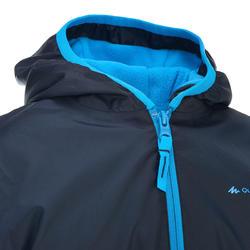Veste de randonnée neige junior SH50 chaude bleue