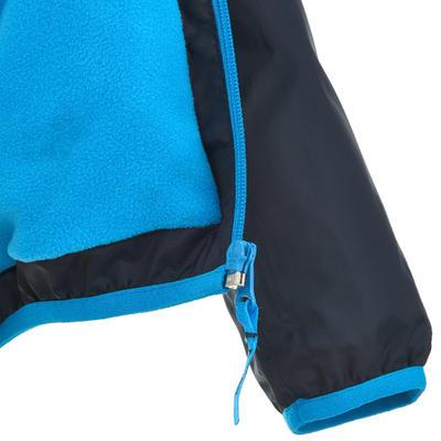Chaqueta cálida e impermeable de excursionismo niño Hike 50 Warm Azul marino